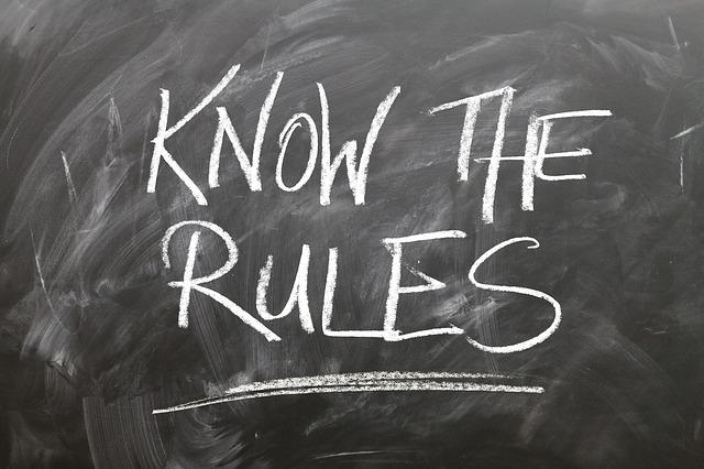 基本的なルール・競技規則